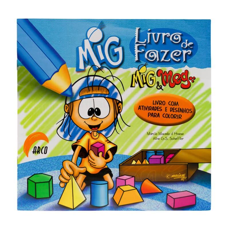 Livro De Fazer Mig E Meg Mig